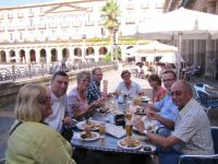 A very civilised tapas lunch in Plaza Nueva.