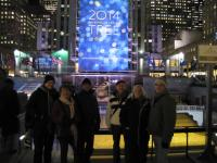 Our Group 2 (excluding Frank this time, using my camera!) at the Rockefeller Center.