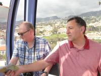 Cable-car ride, Funchal.