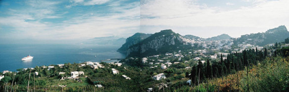 The Bay of Naples from Anacapri